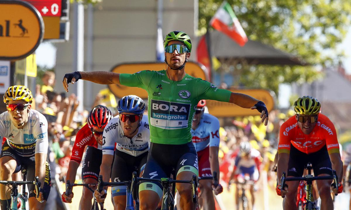 Sagan强势碾压对手 环法第五站胜利漂亮到手