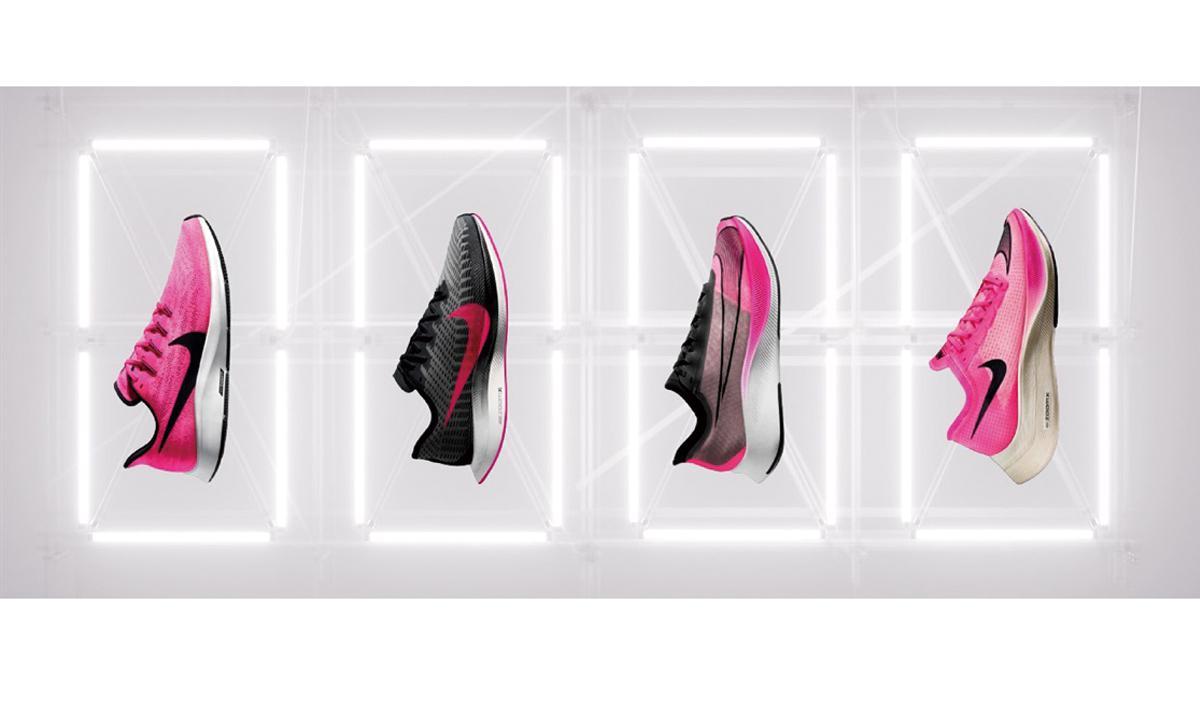 制霸賽道 NIKE疾速系列 PINK BLAST 配色鞋款
