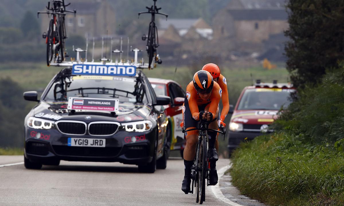 UCI世錦賽 新制男女混合計時賽 飛翔的荷蘭隊奪冠!