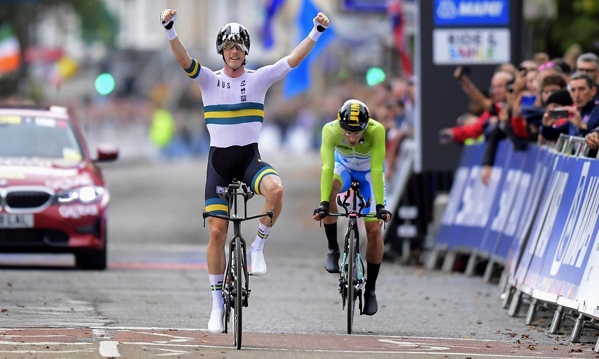 卫冕成功! Rohan Dennis于UCI世锦赛 男子菁英计时夺冠!