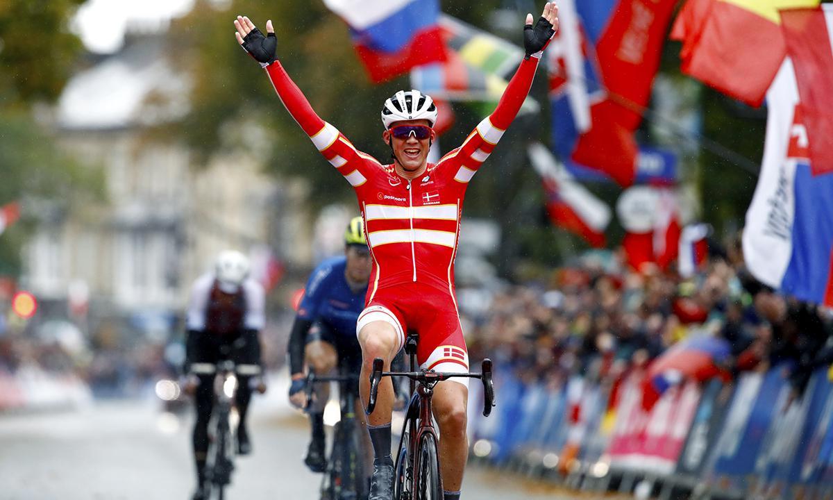 世锦赛男子公路大赛 PEDERSEN代表丹麦夺冠!